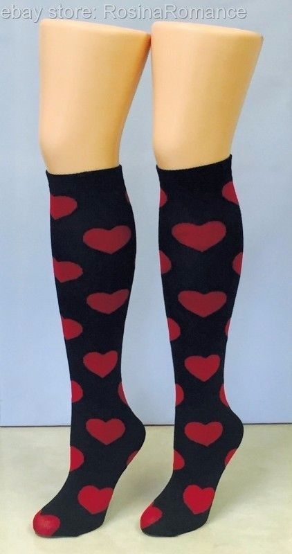 4cc3cc2056c (£8.99 - FREE POSTAGE) You ll be sure to set those hearts racing!  Love   Sick  Heart  KneeHigh  Socks  Pub  Golf  Sweetheart  HenNight  Party   Valentine