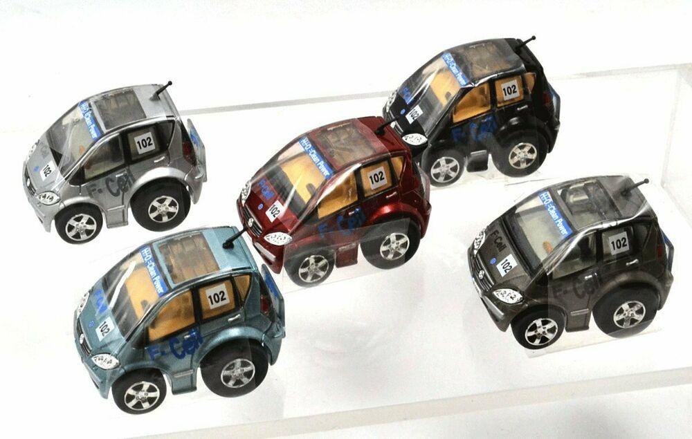 Targa Tomy Choro Q Mercedes Benz A Class Fuel Cell Vehicle Eco Car Set Of 5 Targa Benz A Class Fuel Cell Car Set