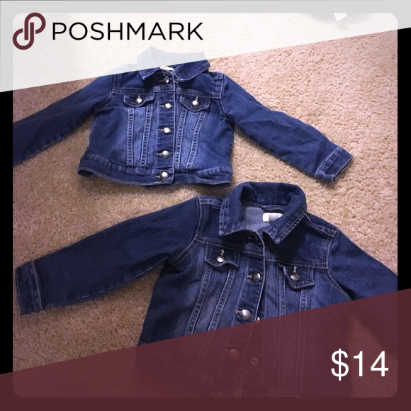 Jean jackets 2t Cute ! Children's Place Jackets & Coats Jean Jackets
