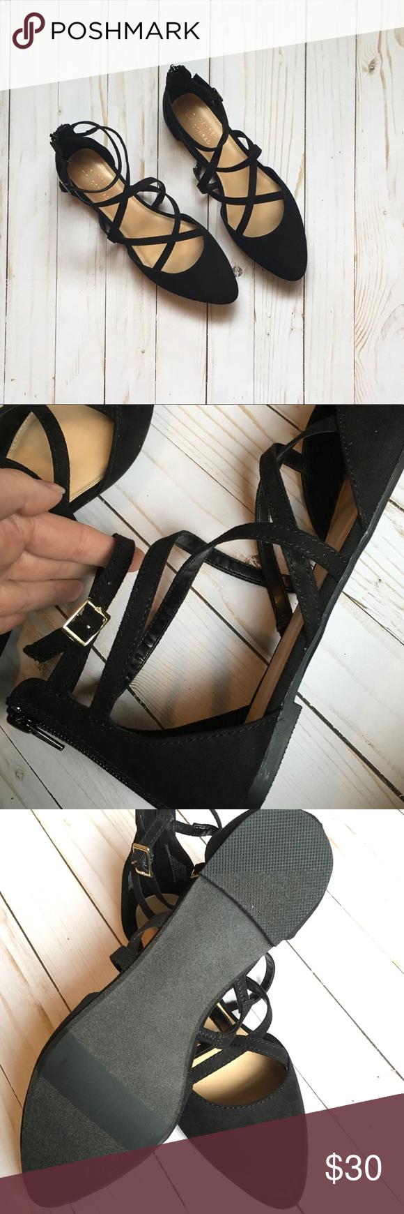 2/$20 LC Lauren Conrad Leopard Slide Sandals Good, pre