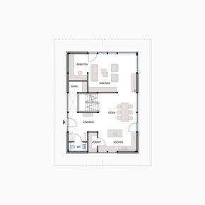 Bauplan Fachwerkhaus huf fachwerkhaus grundriss erdgeschoss modum 7 10 bauplan