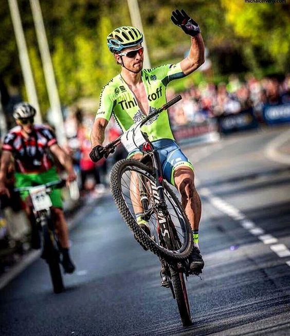 Peter Sagan finished 4th of his 1st MTB's race this season. @michalcervenyphoto