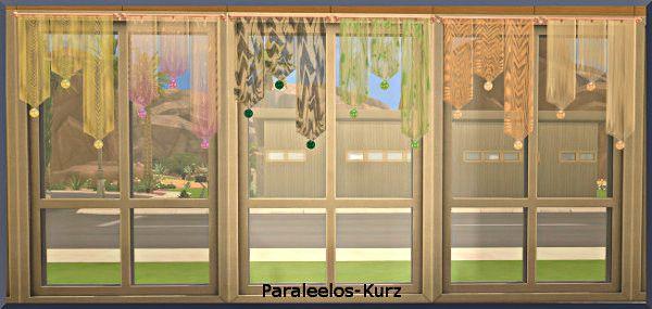 Sims 4 CC's - The Best: Curtain by Avalanche - Sims Marktplatz