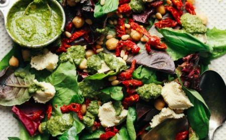 ▷ 1001 + ideas de ensaladas verdes saludables y ricas