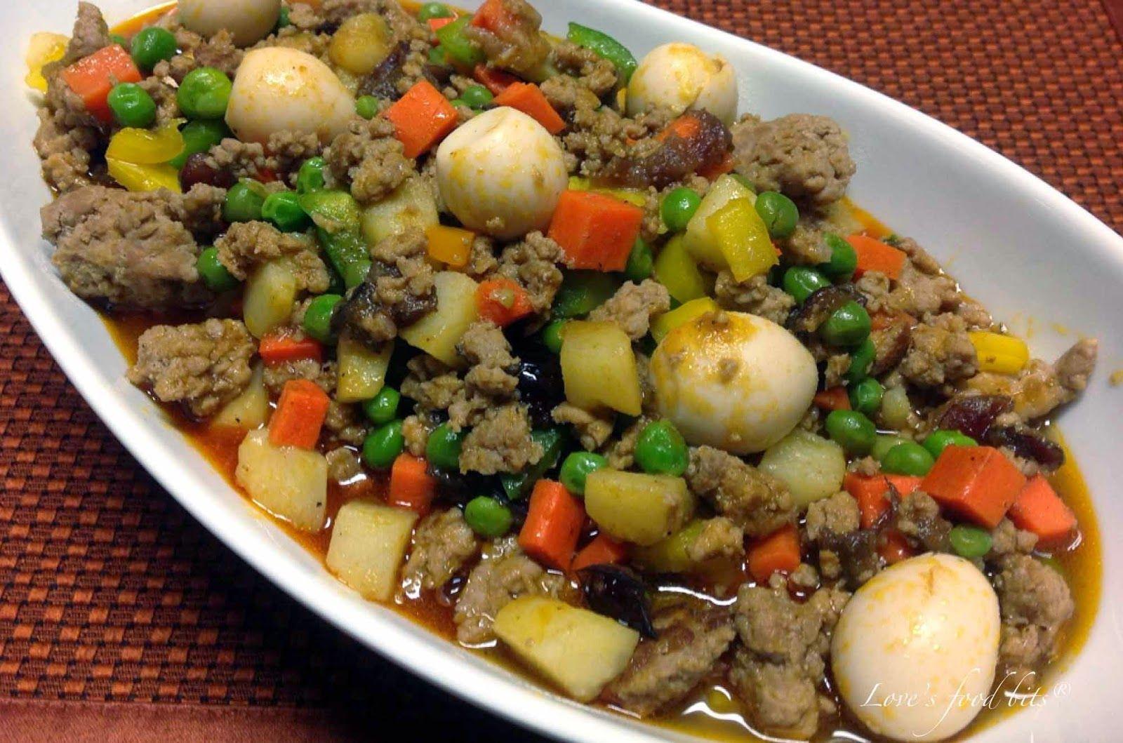 Ground Beef And Quail Eggs Recipe Ground Pork Vegetable Recipes Pork Recipes