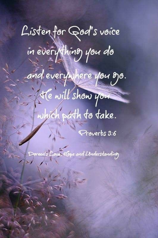 Listen For Godu0027s Voice In Everything You Do And Everywhere You Go. He Will  Show. Christmas Bible StudyChristmas QuotesScripture ...