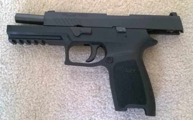 SIG Sauer P320 Review | Features, Application and Observations open | https://guncarrier.com/sig-sauer-p320-review/