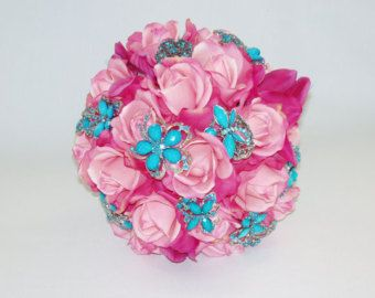 SILK Wedding Or Quinceanera Real Touch Fuchsia Light PINK