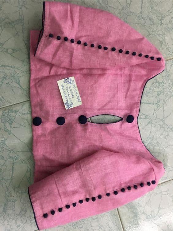 Trendy Saree Blouse Designs - ArtsyCraftsyDad #blousedesignslatest