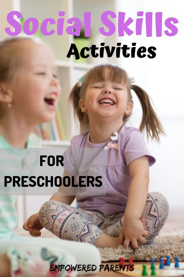 Social ability is as important as a child's intellectual or physical skills. Find out how to build your preschooler's social skills with these activities.