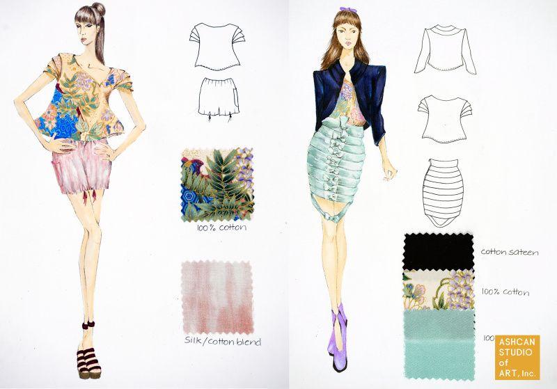 Fit Bfa Ashcan Studio Of Art Fashion Design Portfolio Fashion Portfolio Fashion Design Books