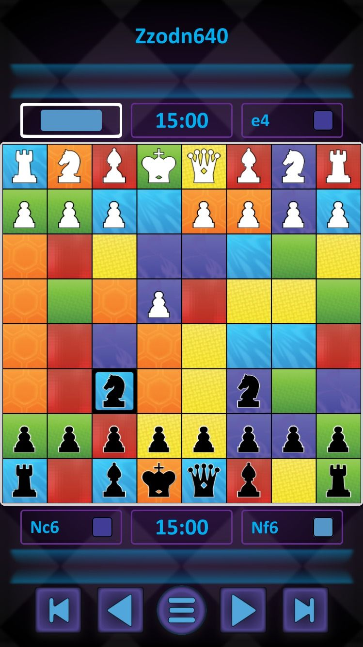 The awardwinning and Mensanominated Colour Chess is now