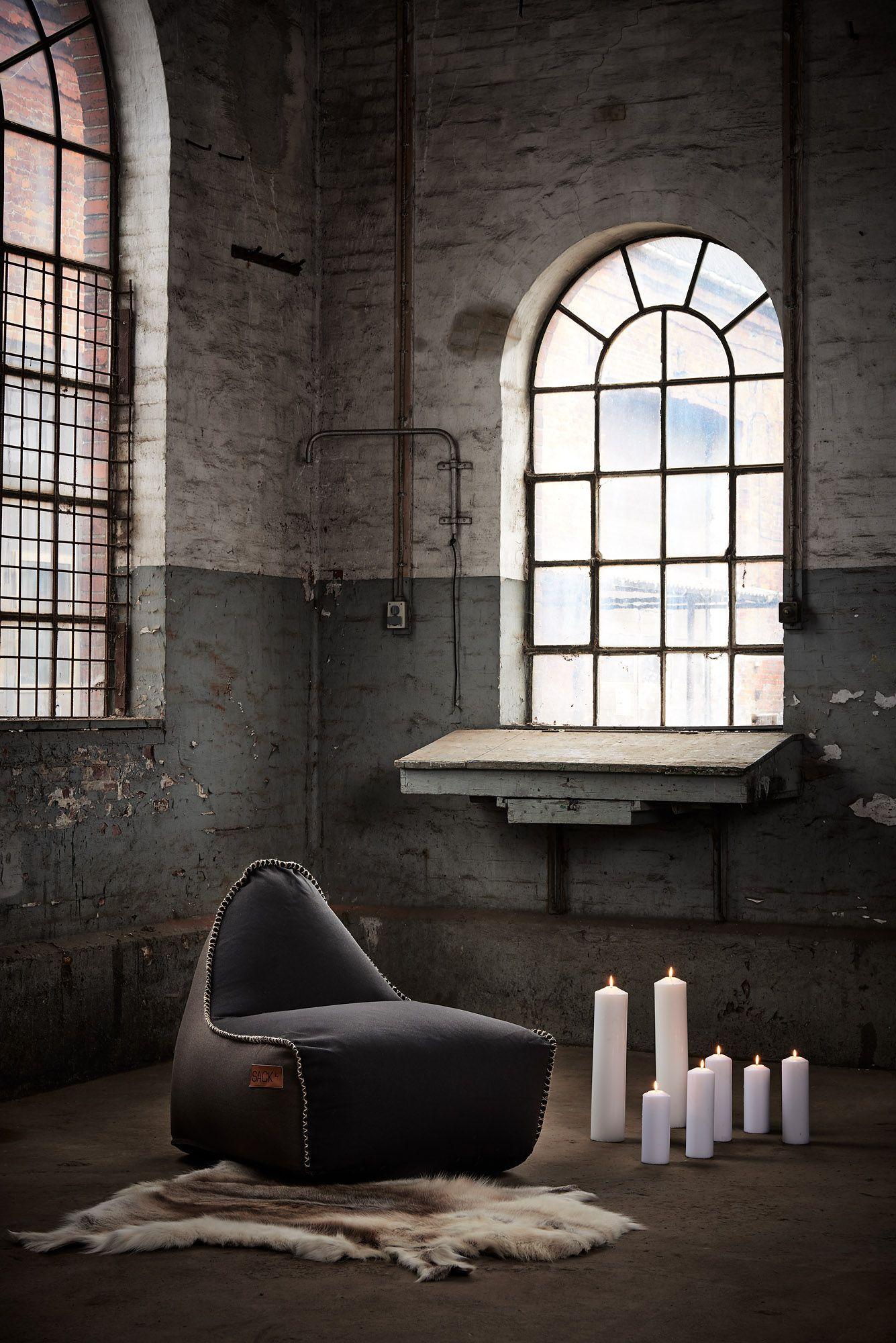 Zwart Leren Zitzak.Sackit Retroit Zitzak Canvas Bruin Zwart In 2019 Deens Design
