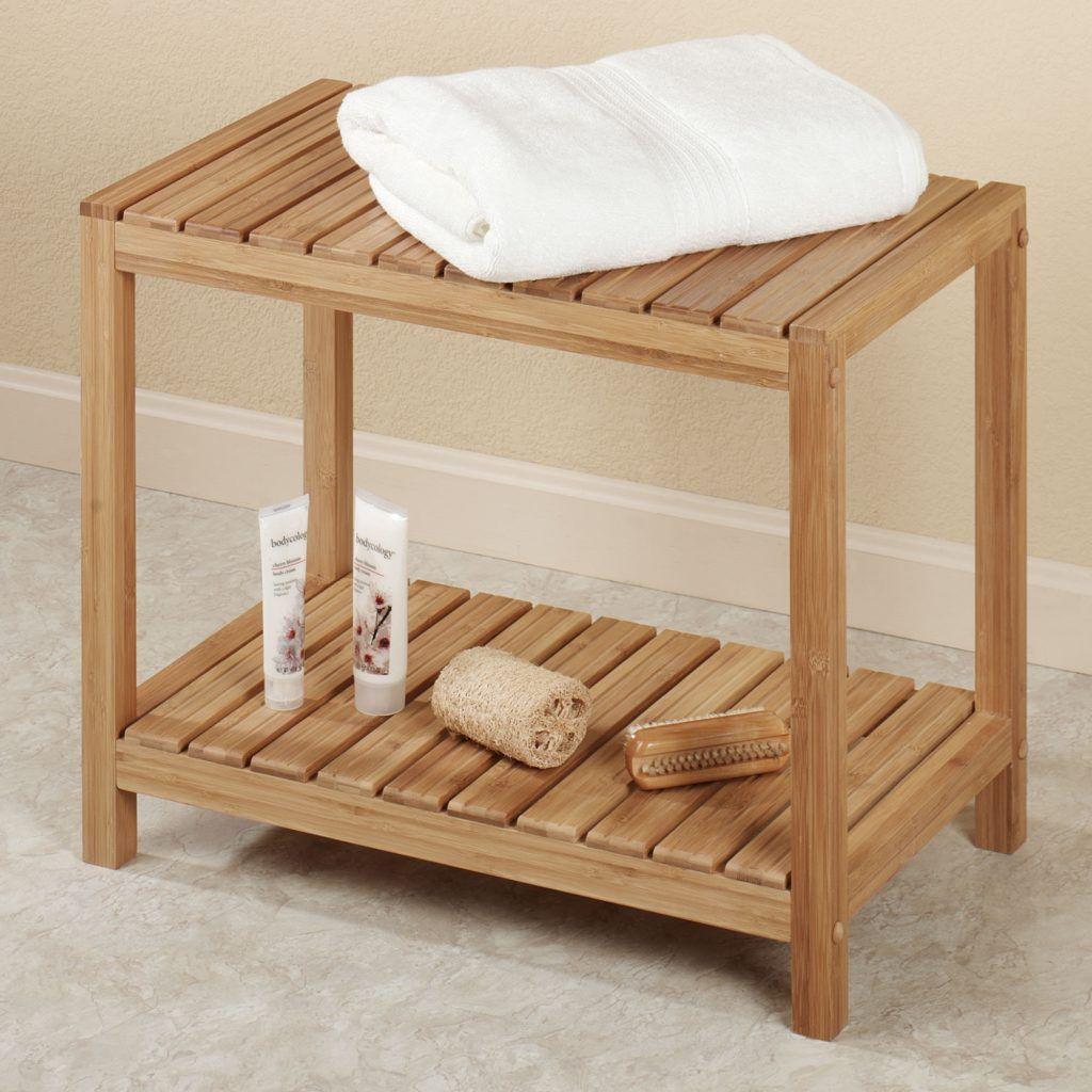 Spa Bathroom Bench