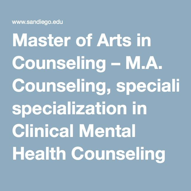 Master of Arts in Counseling \u2013 MA Counseling, specialization in - physical assessment form