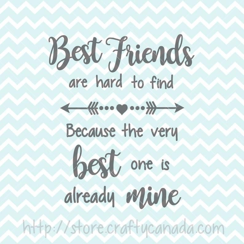 Download Best Friends SVG & PNG, Best Friends Quote, Best Friends ...