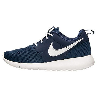 Kids Nike Roshe One GS Midnight Navy White 599728-416 US 6.5y