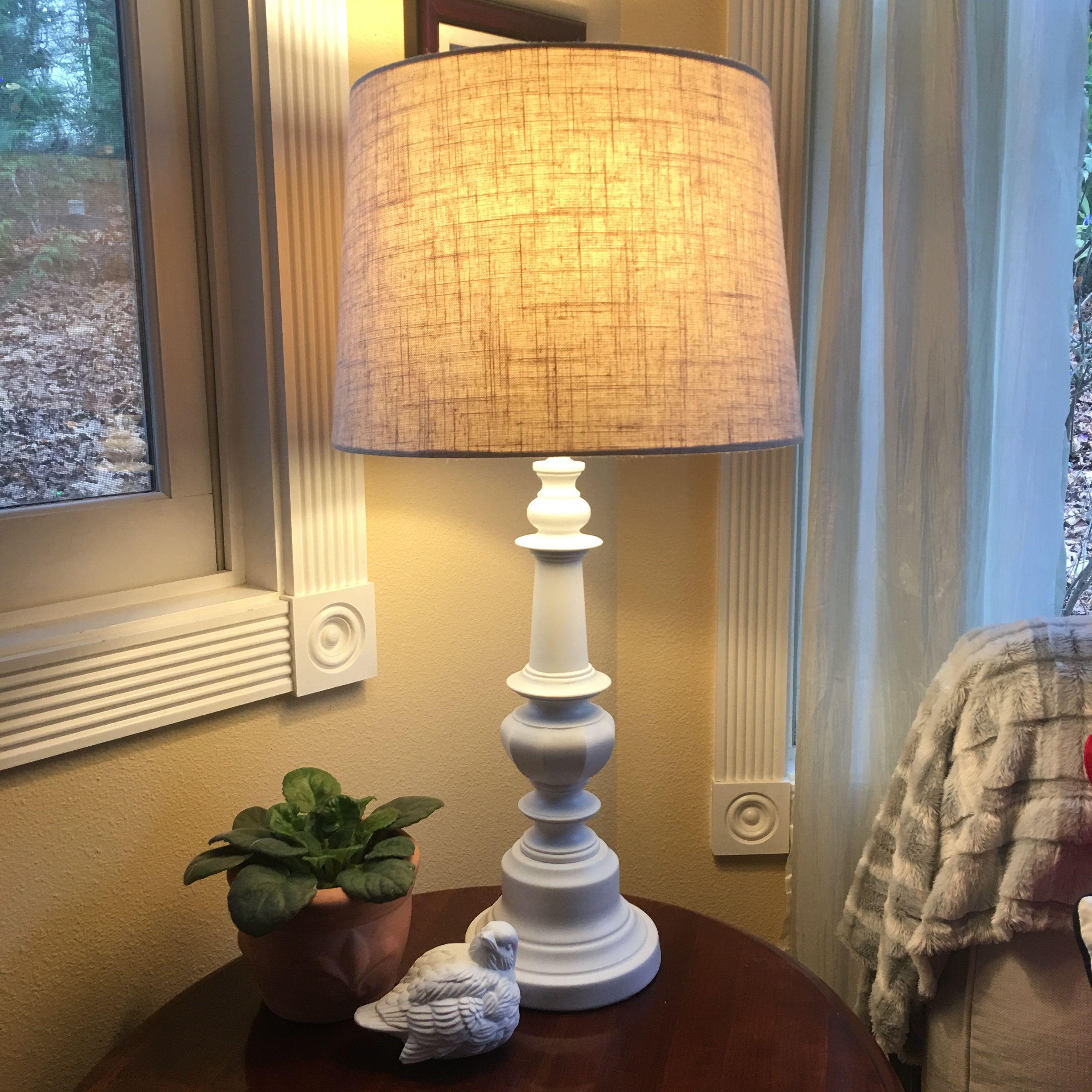 Farmhouse white table lamp white table lamp lamp
