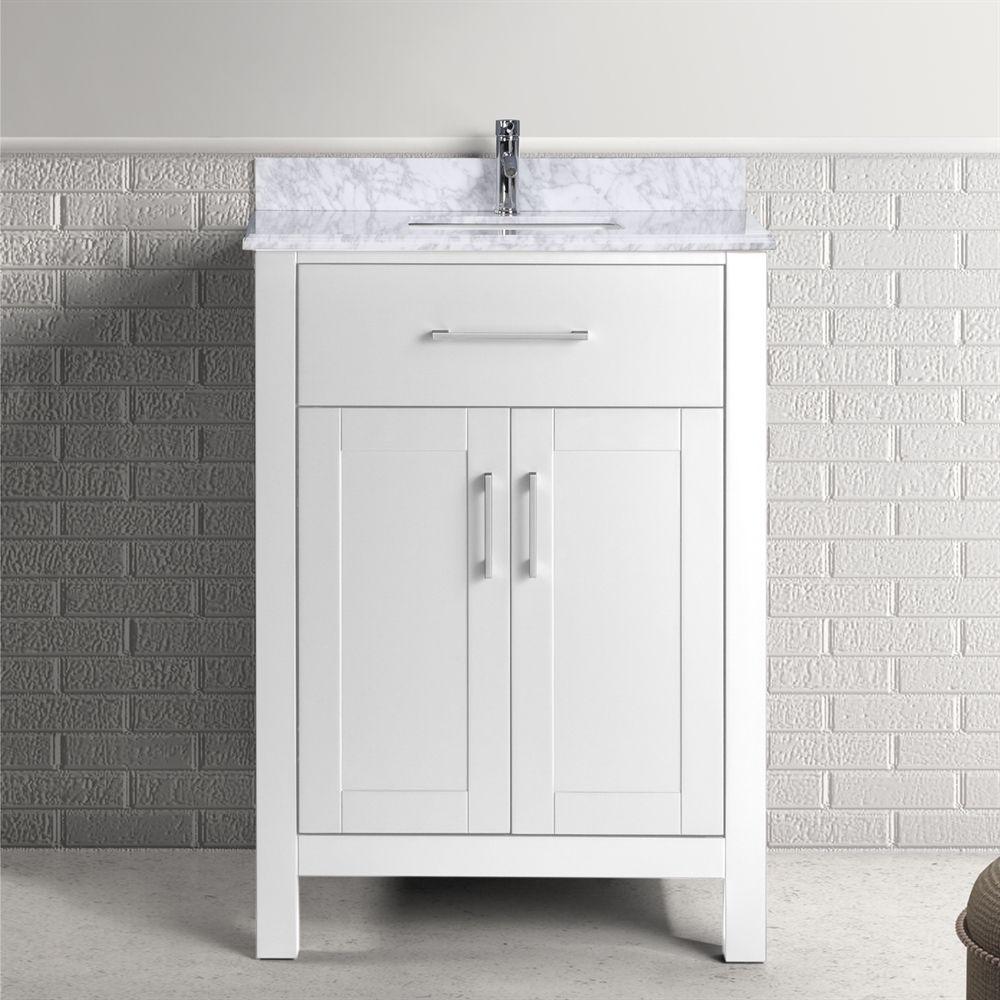 golden elite carrera 24 in bathroom vanity lowe s canada on lowes vanity id=25097