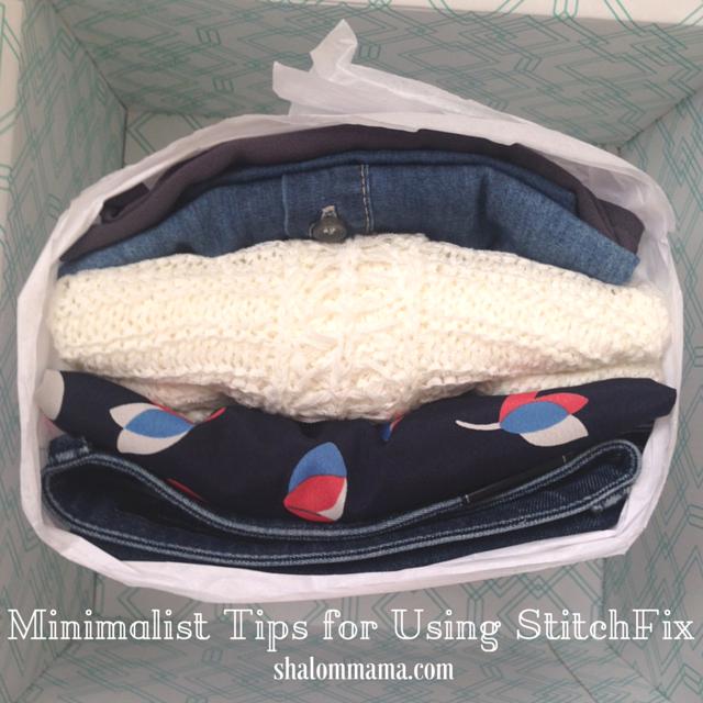 Minimalist Tips for Using StitchFix