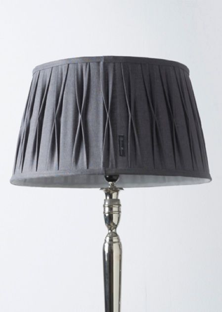 Cambridge lamp shade grey 35x45
