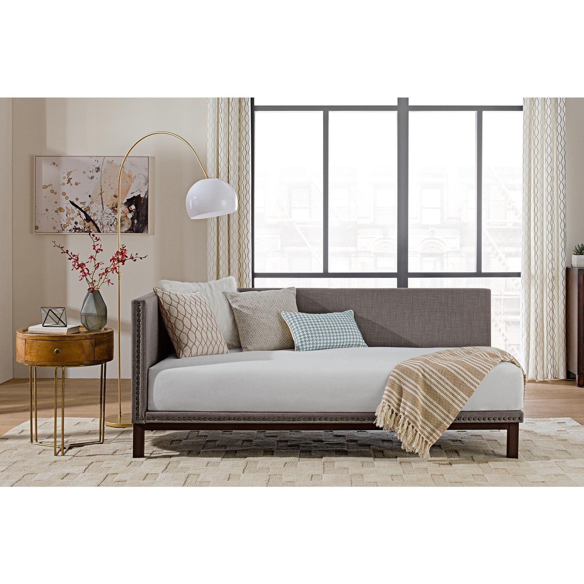 Avenue Greene Dhp Mid-century Grey Upholstered Modern