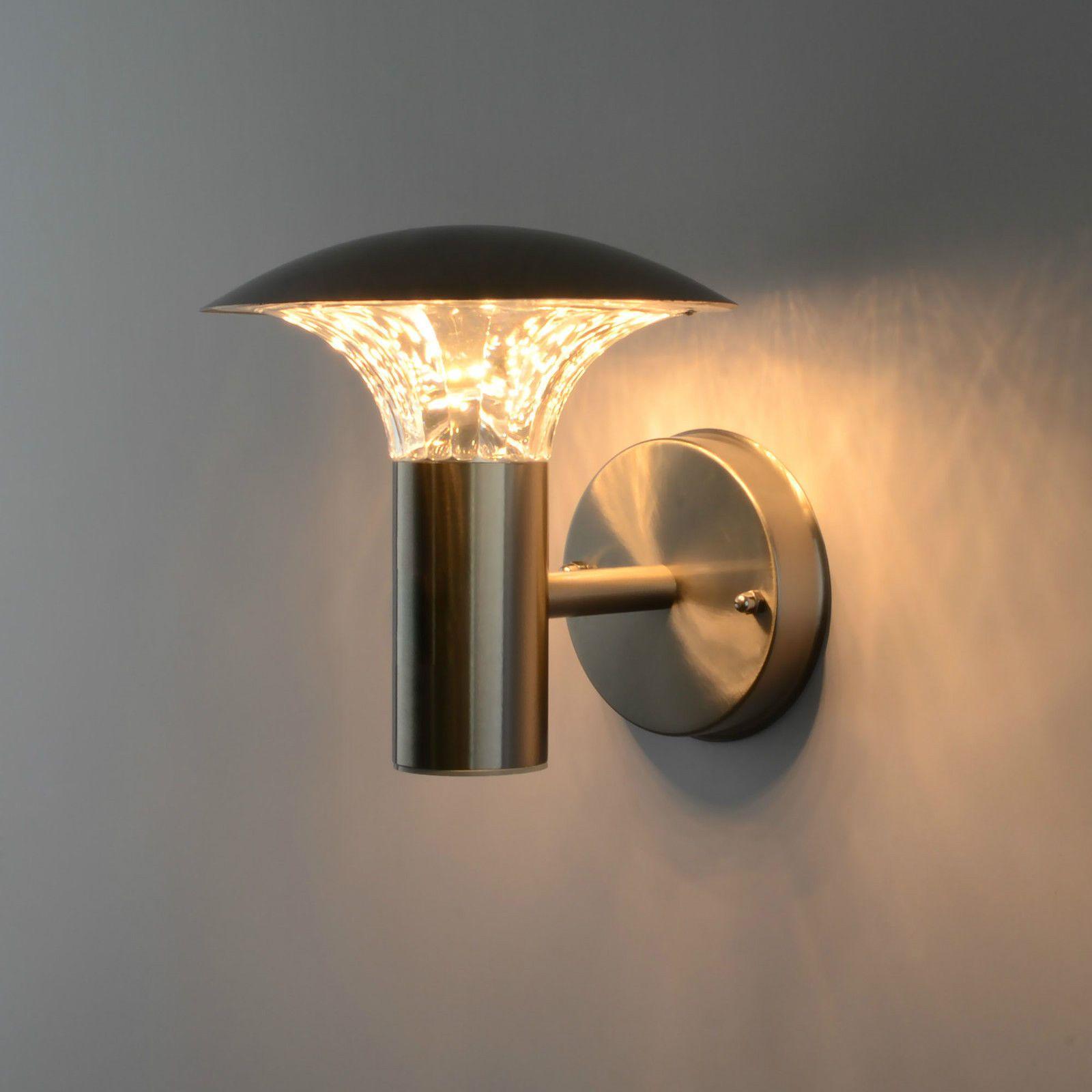 Standleuchte Led Außenleuchte Lampe Bewegungsmelder Wandlampe