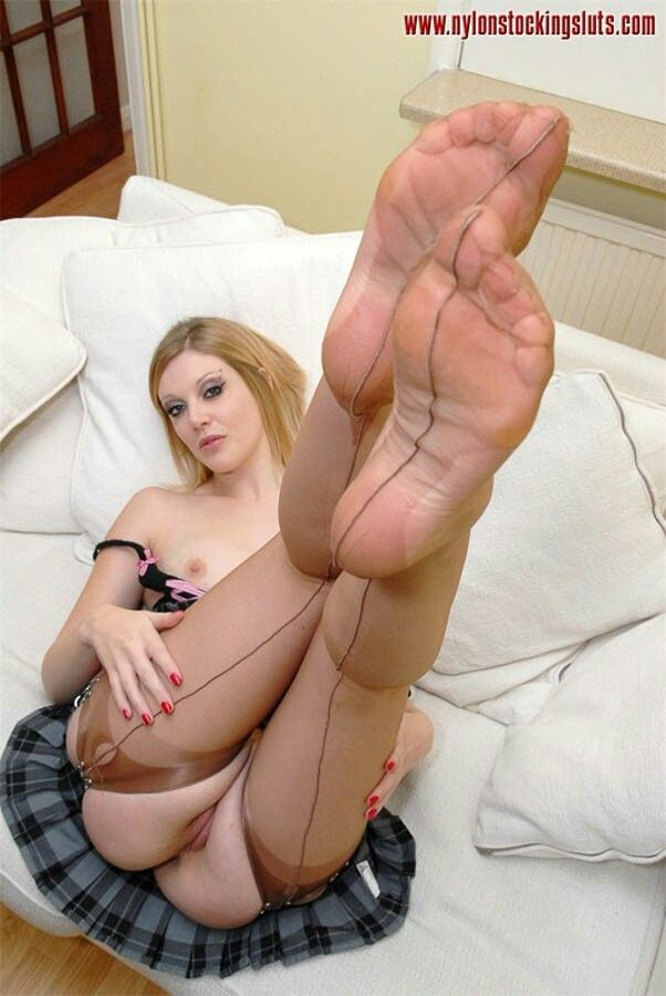 Nylon Füße
