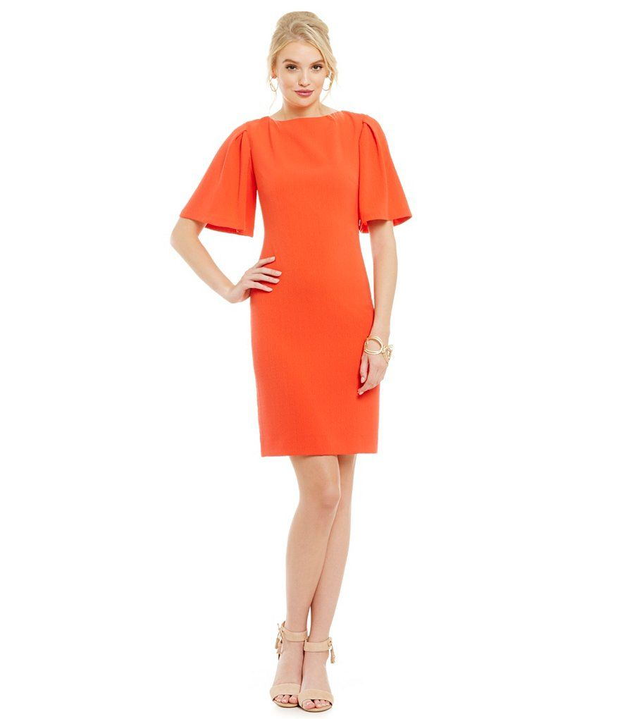 Red Hot Dress / Perfect everyday dress / wedding guest / party ...