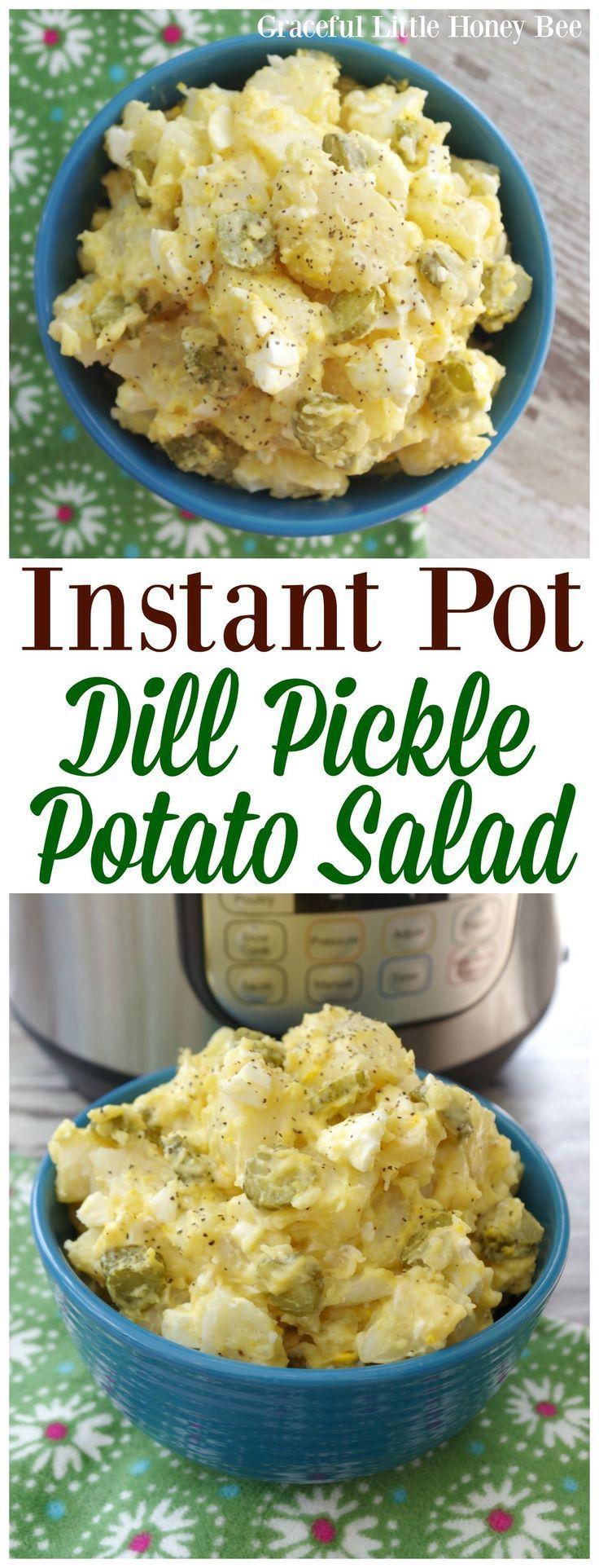 Instant Pot Dill Pickle Potato Salad images