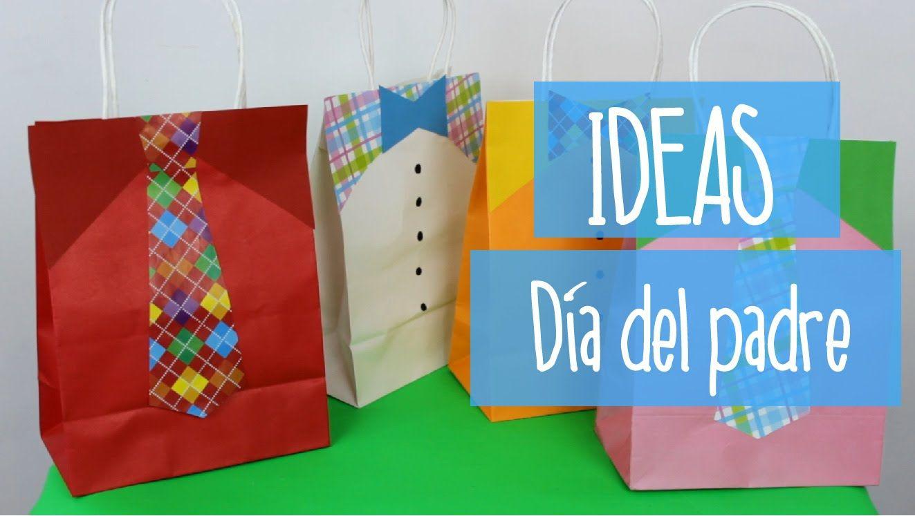 dia del padre ideas para decorar bolsas de regalo de el dia del padre