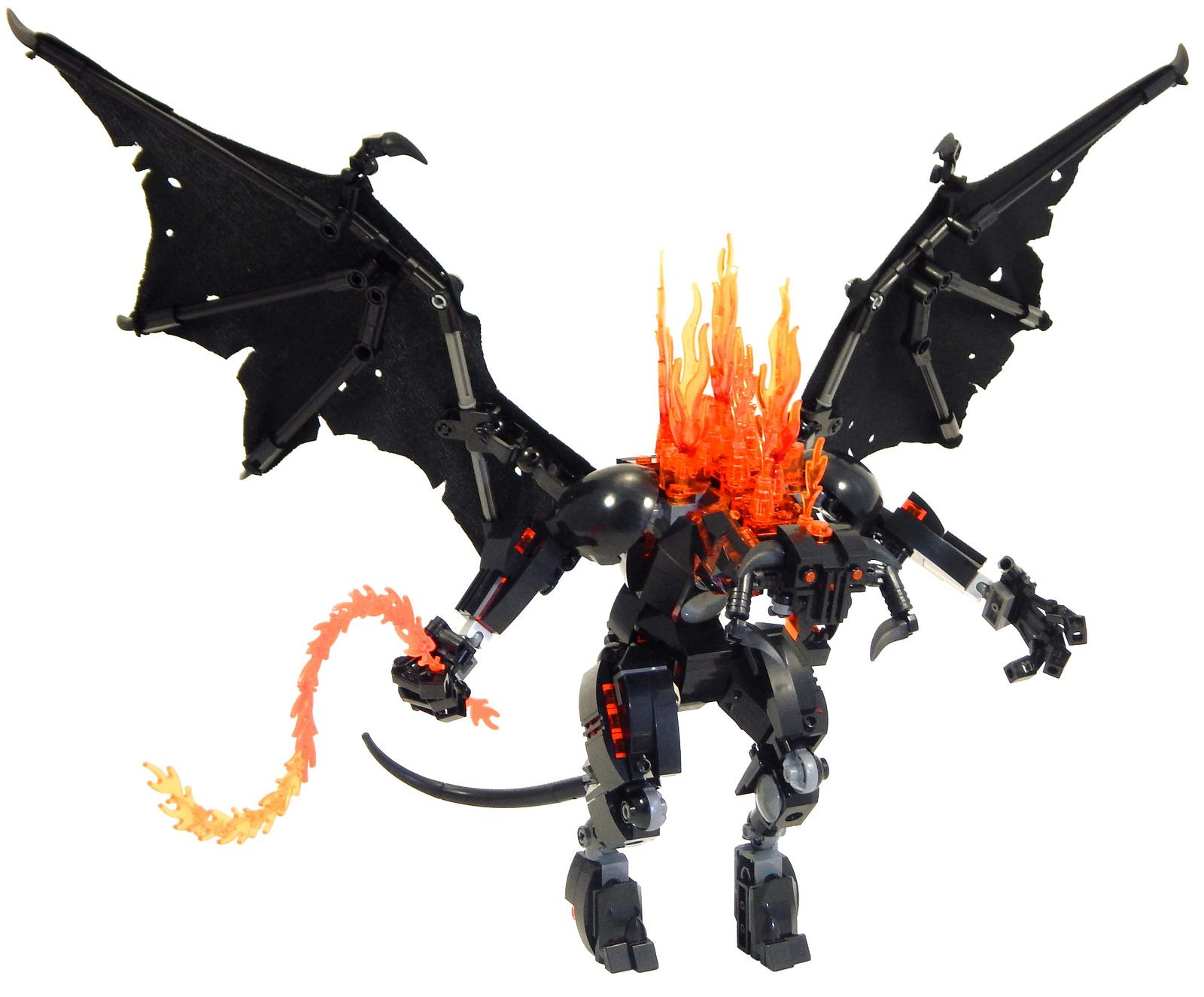 The Balrog Of Moria Balrog Lego Design Lord Of The Rings