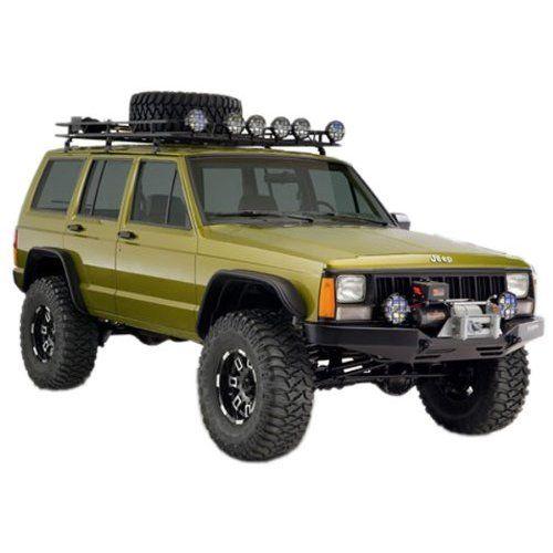Jeep Cherokee Xj Bushwacker Flat Style Fender Flare Kit Jeep