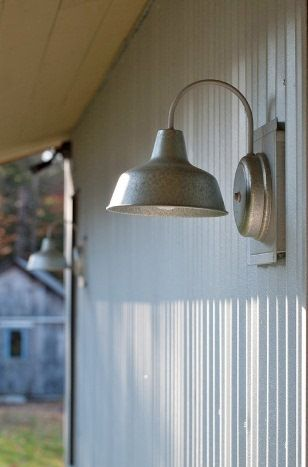 this quaint gooseneck sconce is a great blend of our classic shade