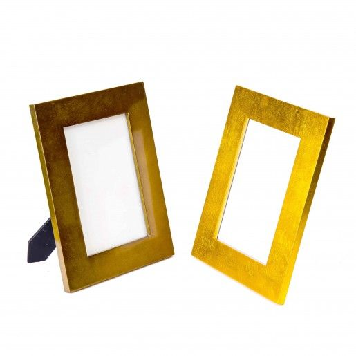 Minimalist in design, this Bronze metal picture frame has a rich and ...
