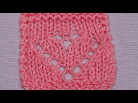 Ajour Herzen - Lace Hearts - Strickmuster - Knitting Pattern ...