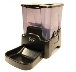 topPetsTM Large Automatic Pet Feeder Electronic Programmable Portion Control Dog Cat Feeder w/ LCD display | Dog Supplies