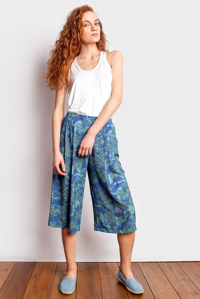 Spodnico Spodnie Pokrzywy Pan Tu Nie Stal Fashion Pants Culottes