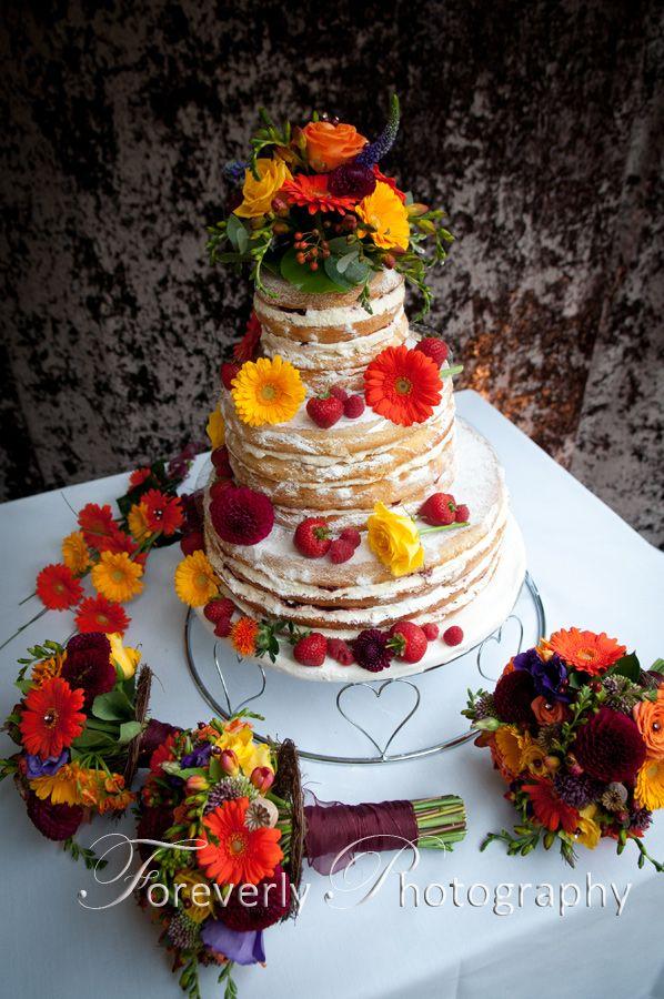Homemade wedding cake. Soooo Yummy