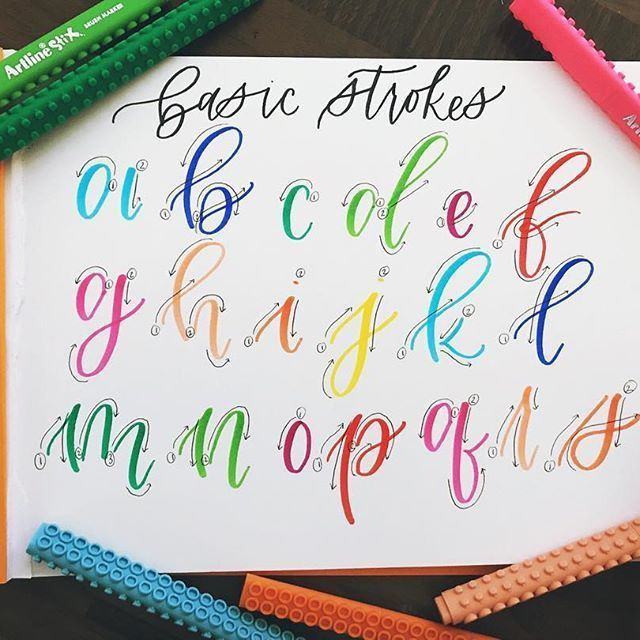 Photo of Calligraphy and hand lettering for beginners! We p… – #Beginners #Calligraphy …