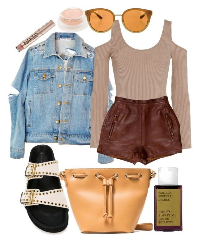 """""""Oakland"""" by ruxandraanita on Polyvore featuring Exclusive for Intermix, Prada, Isabel Marant, Tory Burch, Korres and Urban Decay"""