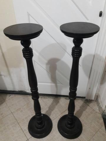 Pedestal/Suporte de madeira para aniversários ou casamento