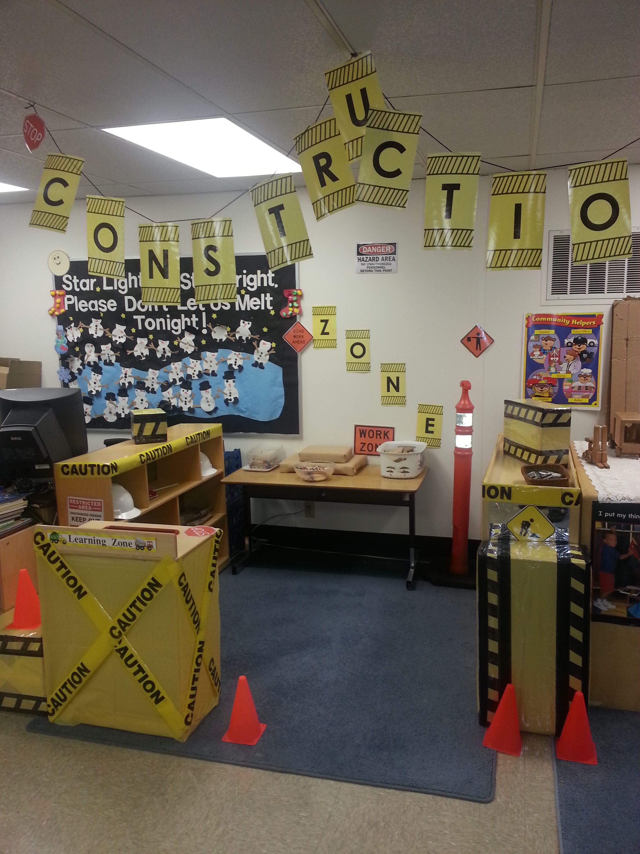 Preschool Construction Zone