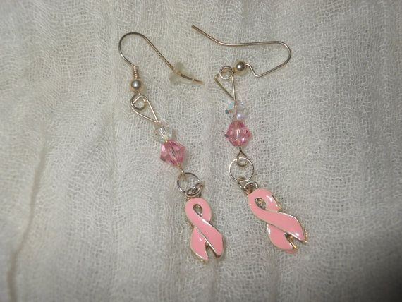 Today's featured shop is anthonycreations!  https://www.etsy.com/listing/167186075/pink-breast-cancer-earrings?ref=shop_home_active_5