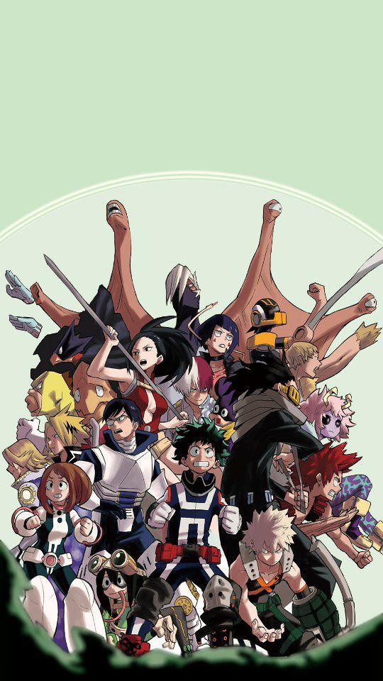 My Hero Academia Class 1 A 1a Academia Class Hero My Hero Anime Hero Wallpaper