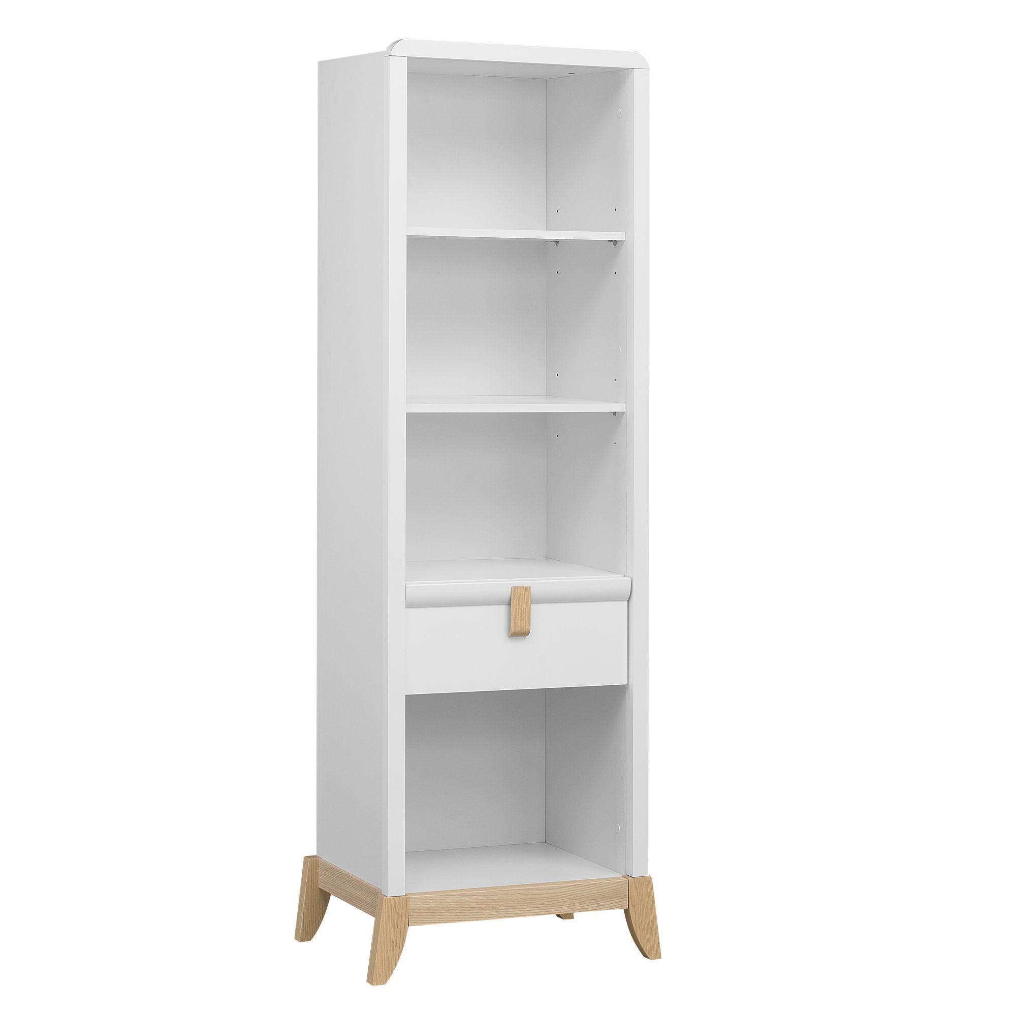 Bibliotheque 1tiroir Frene Blanc Flocon Les Etageres De Chambre D Enfants Les Meubles Pour Chambre Enfant Mobilier De Salon Meuble Chambre Meuble Deco