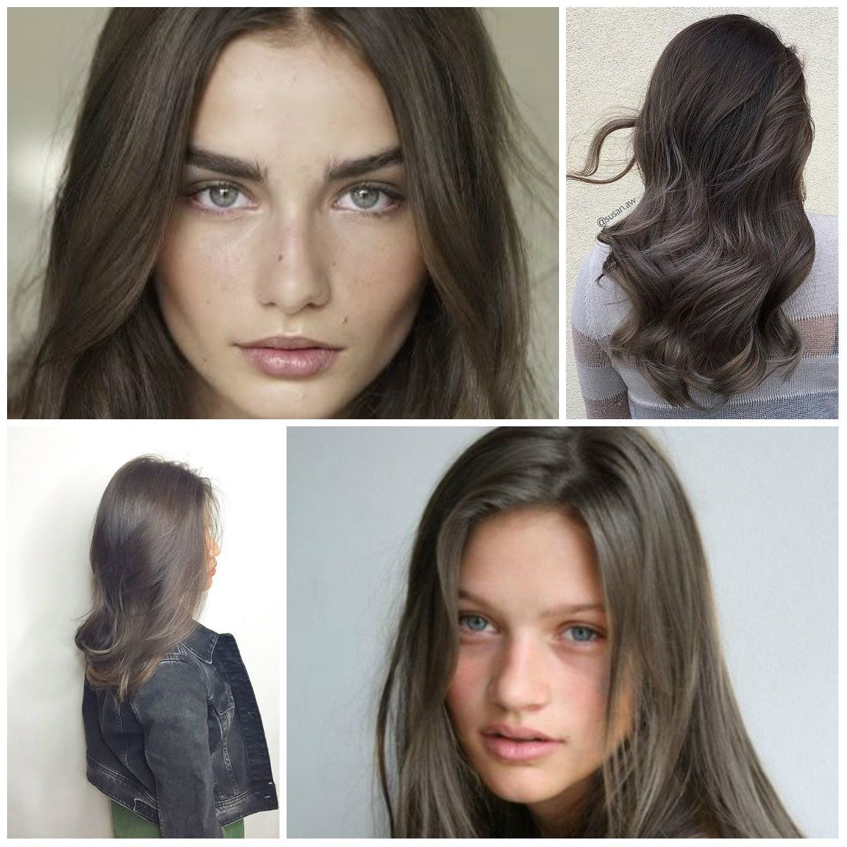 Medium Ash Brown Hair Color Inspirational Dark Pinterest