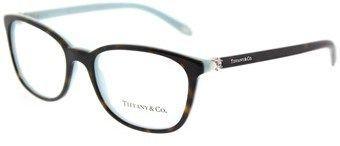 f7e88b9b6536 Tf 2109hb 8134 51mm Havana Blue Square Eyeglasses