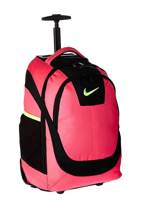 nike rolling backpack pink online   OFF53% Discounts dfee153cc7