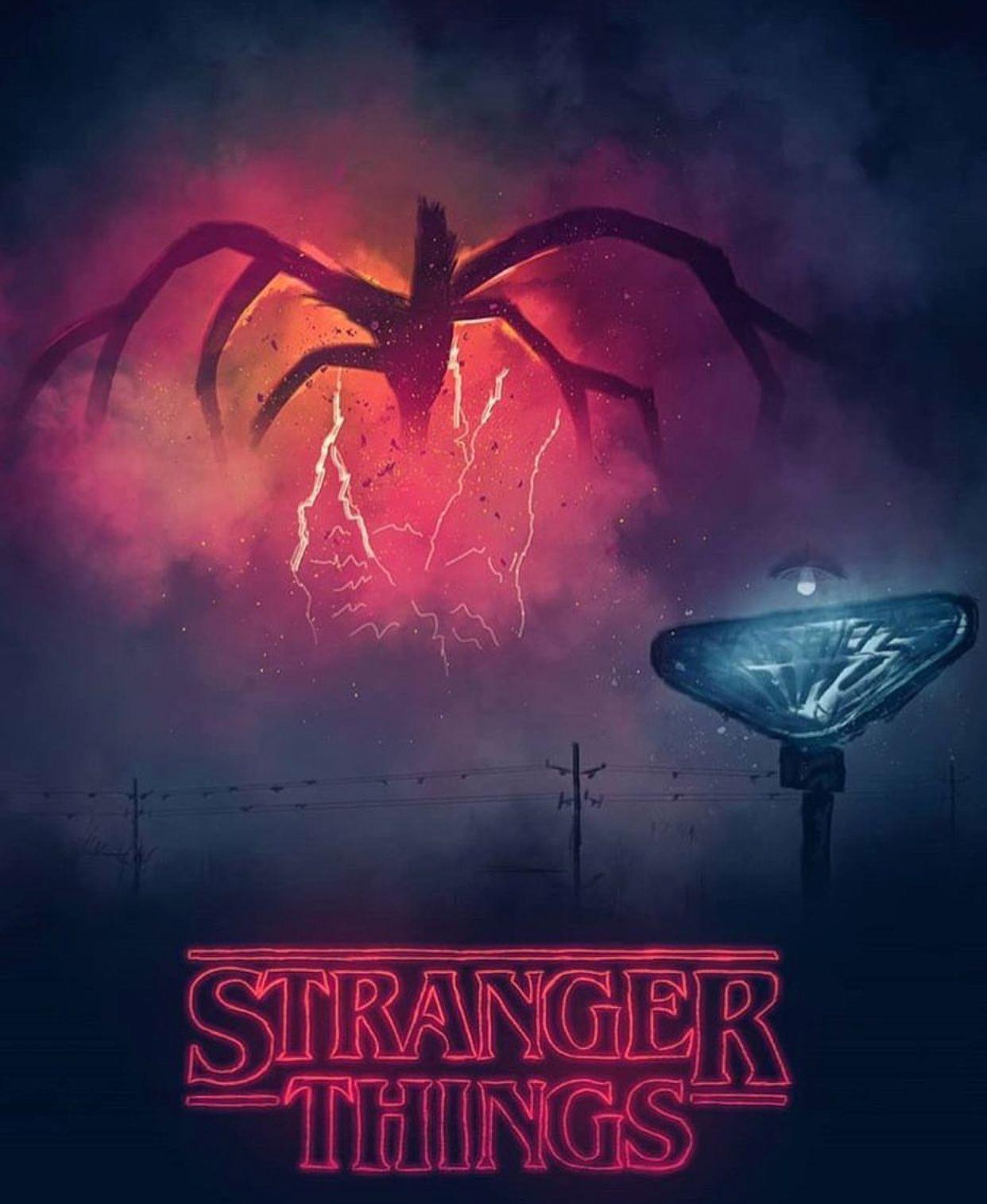 Idea by Shrooq on ا Stranger things poster, Stranger